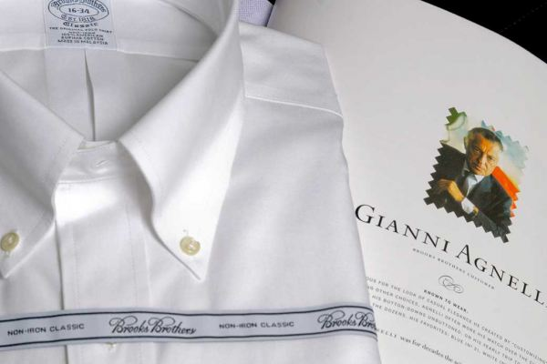 Brooks Brothers Camicia Gianni Agnelli